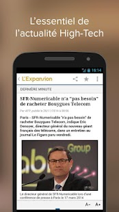 L'Expansion : actu economique - screenshot thumbnail