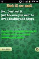 Screenshot of Best Diet Control App -Healthy