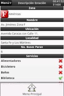 Rutas Transmilenio - screenshot thumbnail