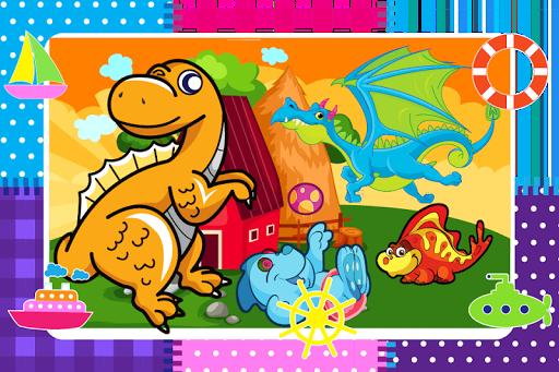 恐龙的差异游戏