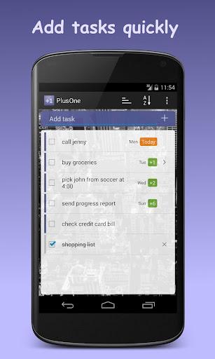 PlusOne Task List Todo List