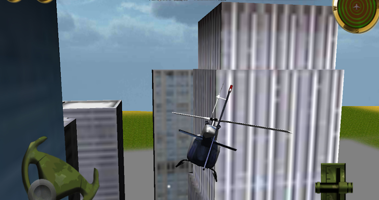 Police Helicopter - 3D Flight screenshot