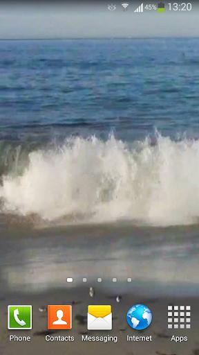 玩個人化App|Angry Ocean Live Wallpaper HD免費|APP試玩