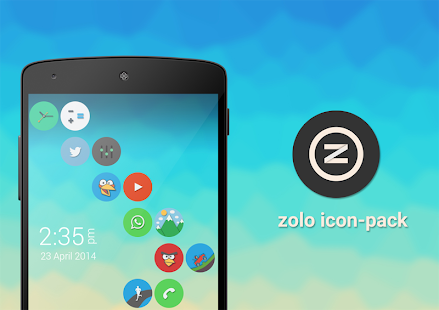 Zolo icon pack- screenshot thumbnail