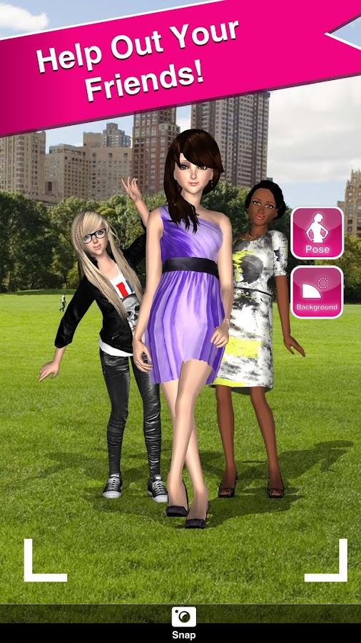 Style Me Girl: Free 3D Dressup- screenshot