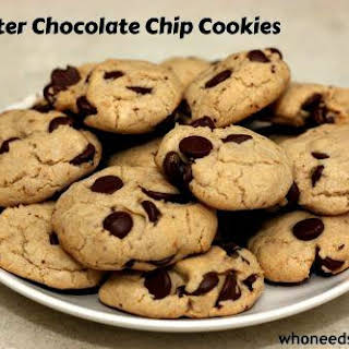No Butter Chocolate Chip Cookies.