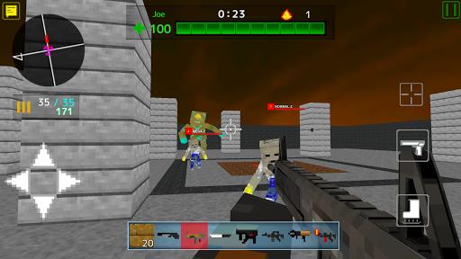 لعبة Death Blocks 3 v1.0.6 (Mod Money) لجوالات الاندرويد