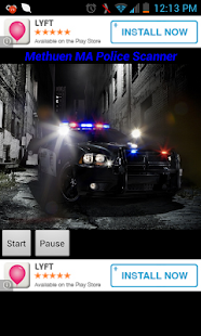 Methuen MA Police Scanner