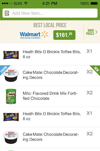 CartCrunch - Grocery Savings