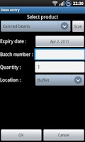 Screenshot of Inventory Manager Lite