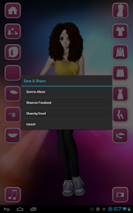 Style Dress Up: Girls- screenshot thumbnail