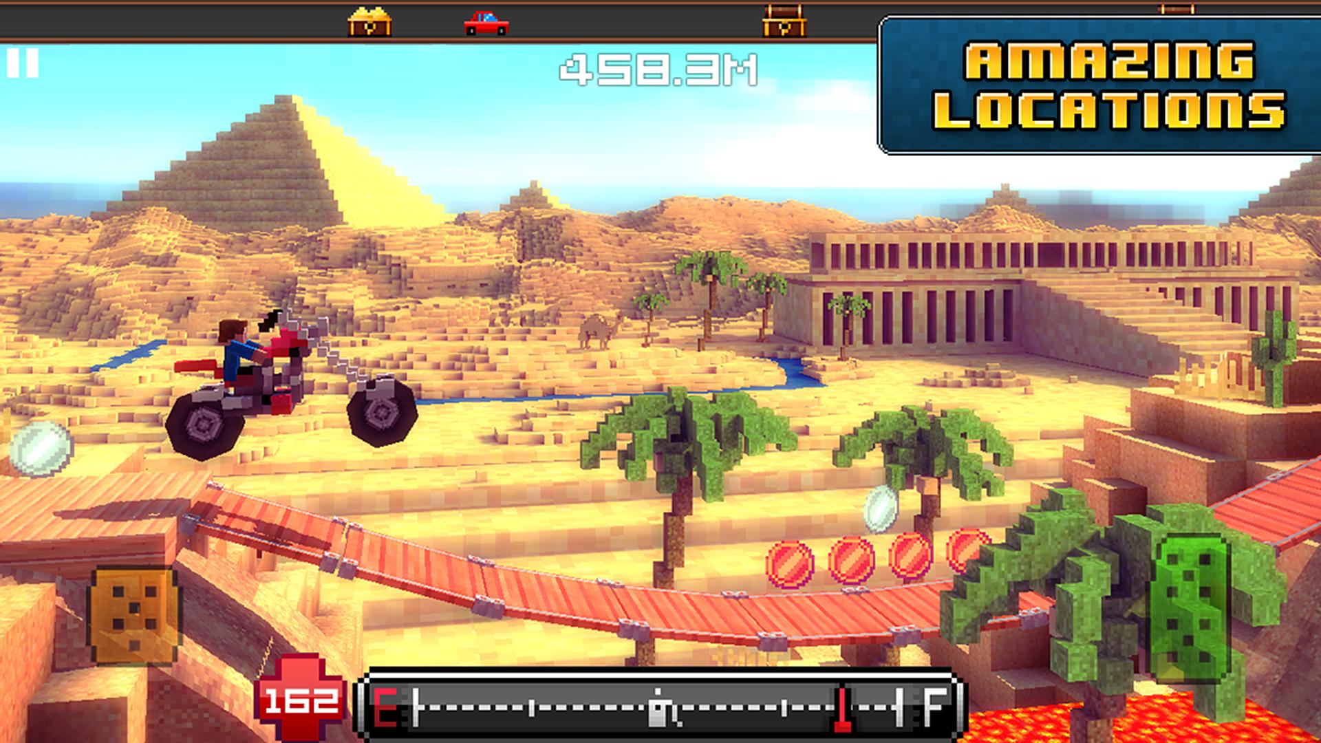 Blocky Roads screenshot #8