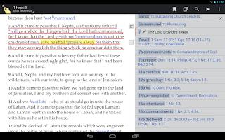 Screenshot of Gospel Library