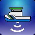 Survey vessels icon