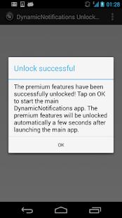 DynamicNotifications Unlocker - screenshot thumbnail