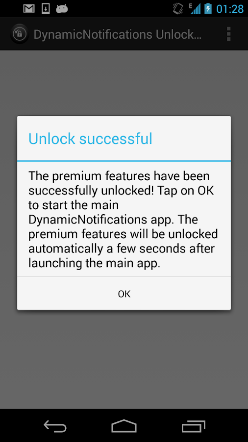 DynamicNotifications Unlocker- screenshot