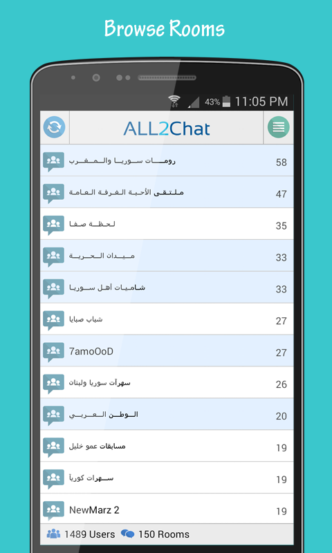 Live Weather Chat Room