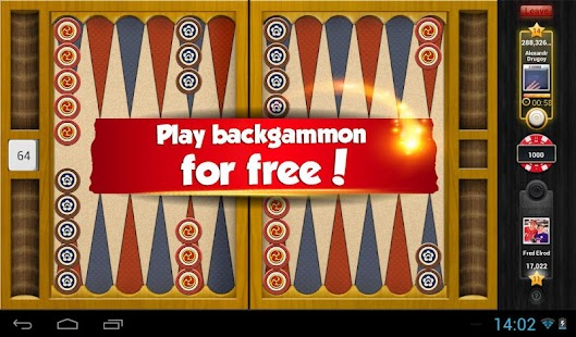 play backgammon online with other players