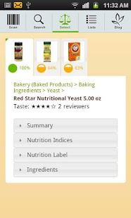 FoodSmart Healthy Grocery List - screenshot thumbnail