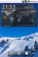 Screenshot of solShadow Widget