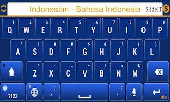 Screenshot of SlideIT Indonesian Pack