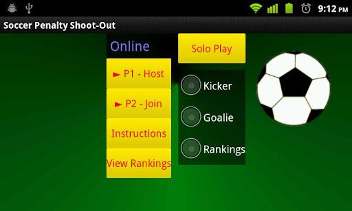 Soccer Penalties Online