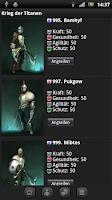 Screenshot of Krieg der Titanen