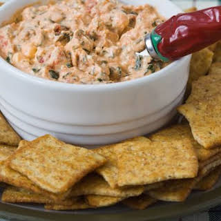 Roasted Tomato, Basil, and Goat Cheese Spread.