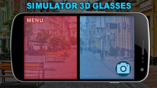 仿真3D眼镜
