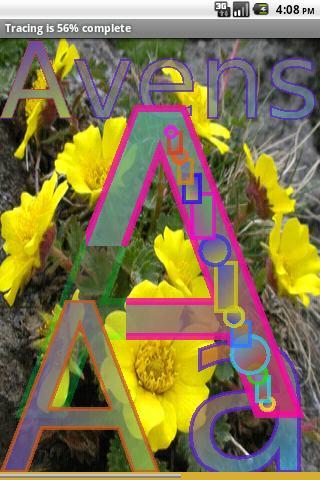 Easy Flower Alphabet  2 FREE- screenshot