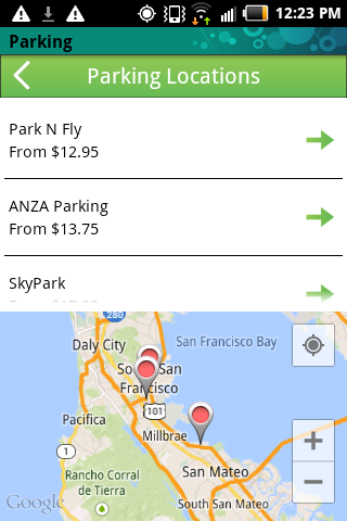 【免費旅遊App】Airport Parking USA-APP點子