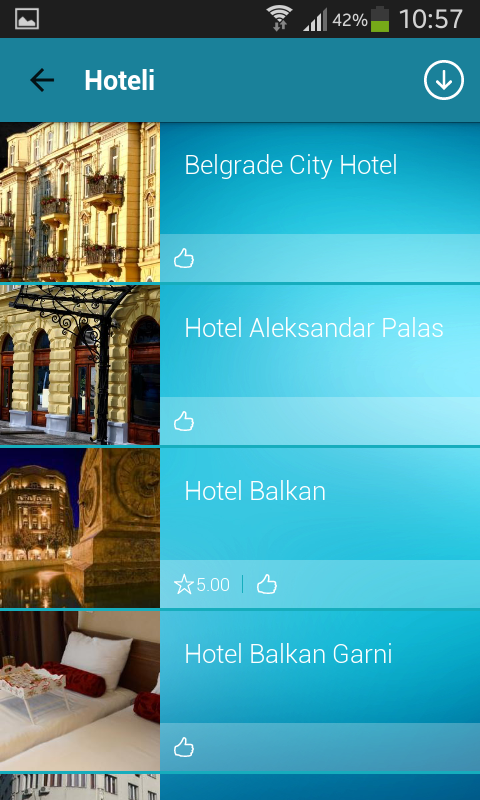 Belgrade Info Guide- screenshot