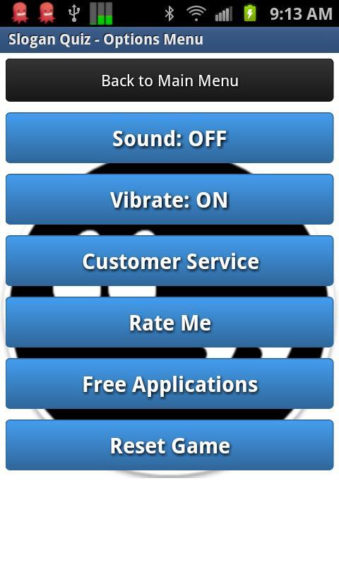 Slogan Quiz Game- screenshot