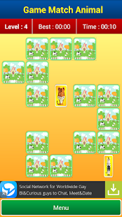 Matching Games : Animal Cards- screenshot thumbnail