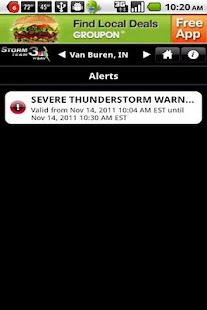 WSAV Weather - screenshot thumbnail