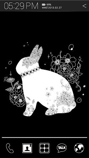 Bunny Mano Atom Theme