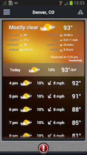 Pinpoint Weather - screenshot thumbnail