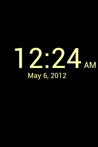 Better Desk Clock - screenshot