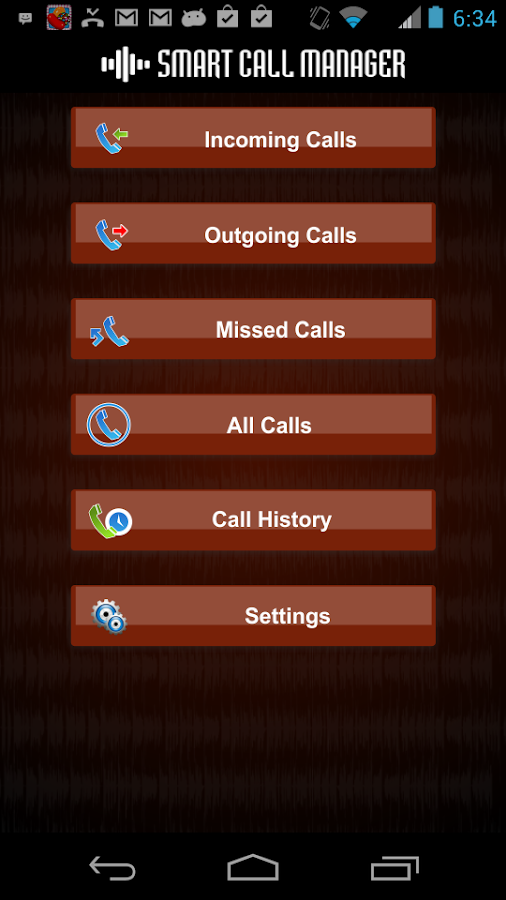 Smart Call Manager - screenshot