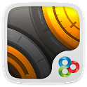 Golden Steel GO Launcher Theme icon