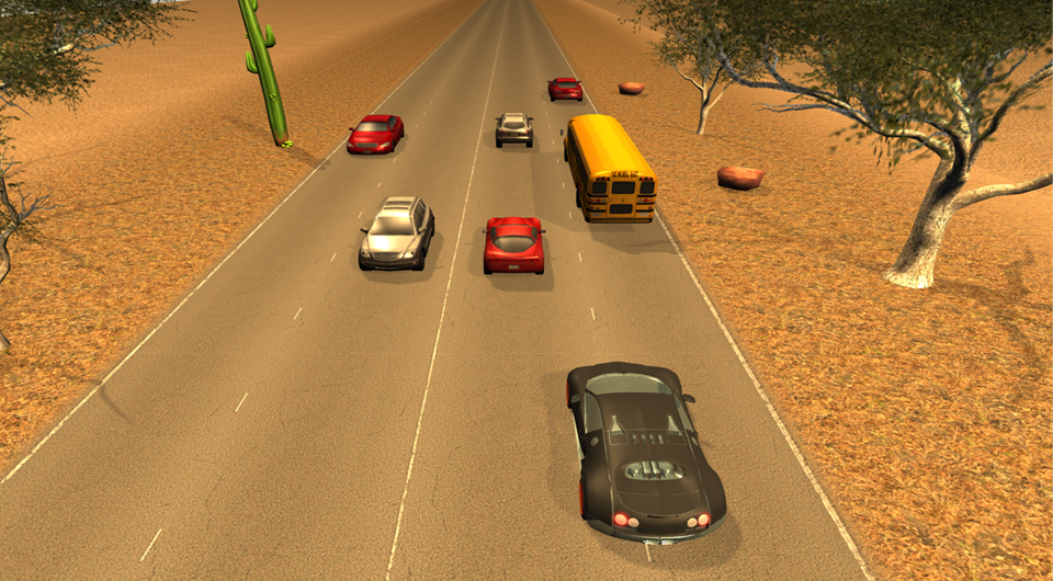 Traffic Racer 2 3D- screenshot