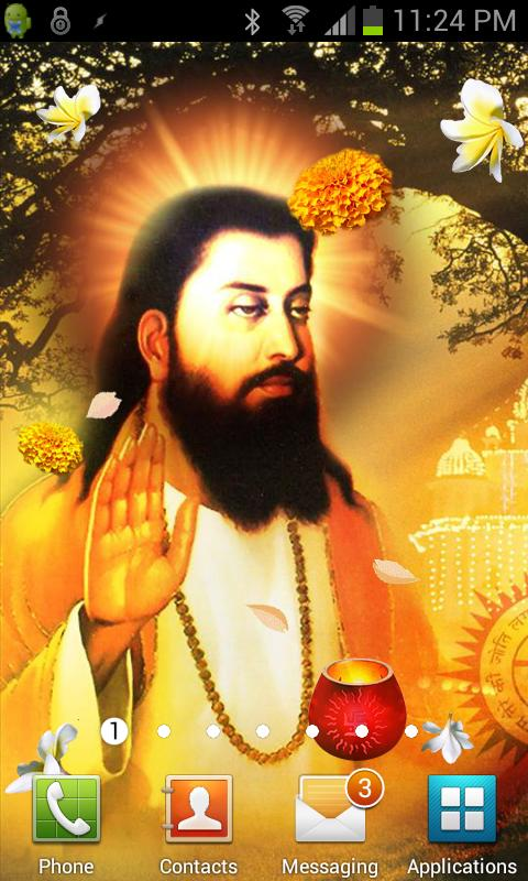 Guru Ravidas Ji Live Wallpaper - screenshot