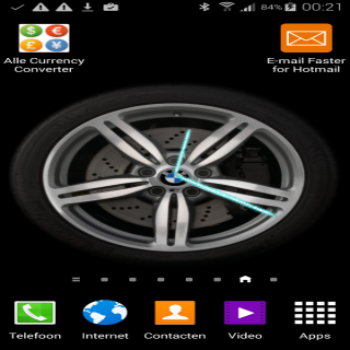 watch face car rim