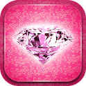 Pink Luxury Live Wallpaper icon