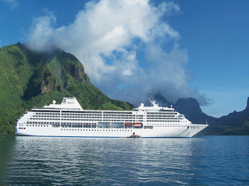 Regent-Seven-Seas-Mariner-Moorea - Explore the wonders of the Moorea Islands on a cruise through  French Polynesia aboard Seven Seas Mariner.