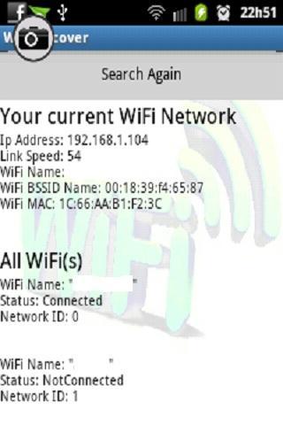 WiFi發現IP的MAC SSID