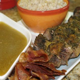 Pesto-Stuffed Beef Roast