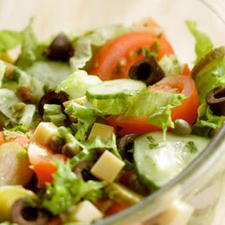 Salade Met Tomaat En Olijven