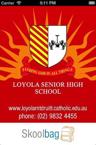 【免費教育App】Loyola Senior High - Skoolbag-APP點子