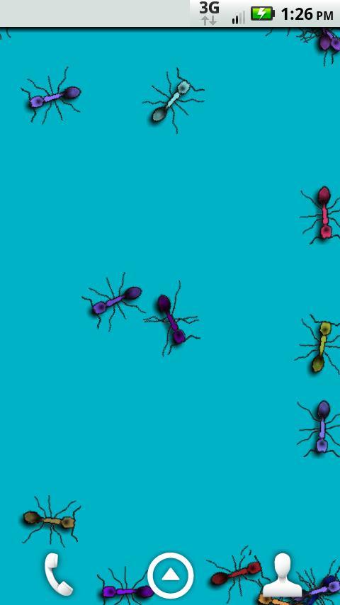 Formigas Vivo! Papel de Parede - screenshot